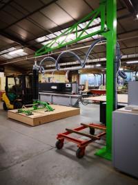 QMA Menuiserie a installé des nouvelles machines dans son atelier