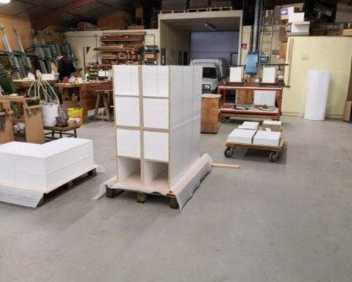 Fabrication de meuble d'agencement  en sous-traitance